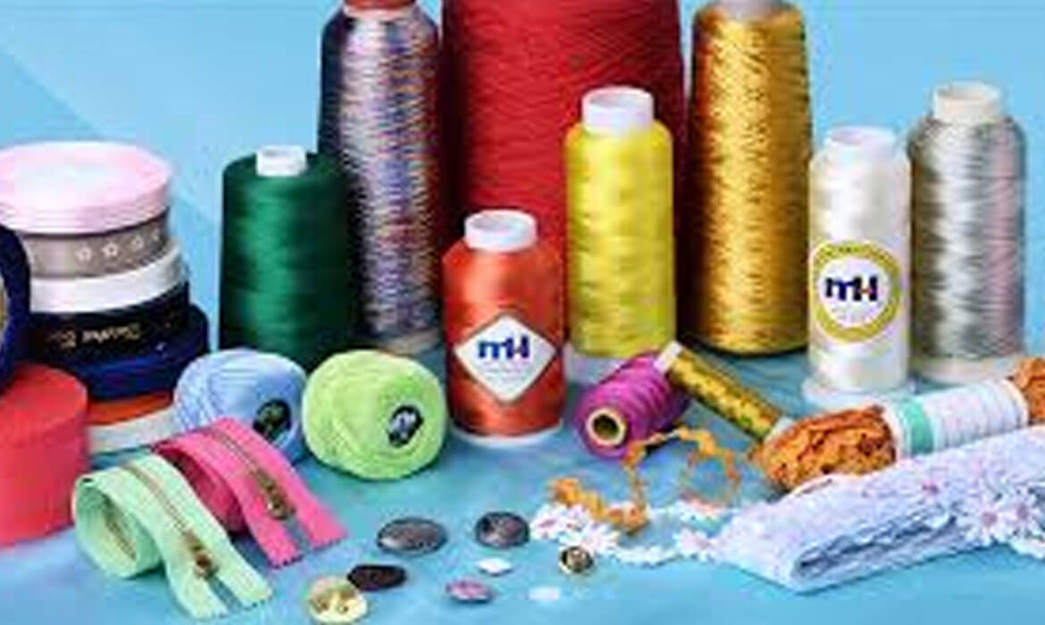 Sewing Threads, Laces & Accessories Manufacturer and supplier in Bangalore