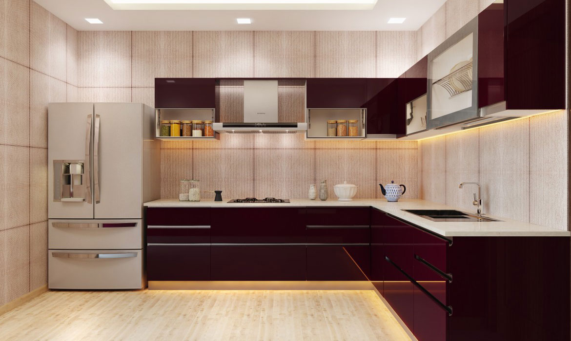 Leading Designer & Supplier of L Shape Kitchen In Bangalore